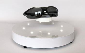 espositore levitazione magnetica