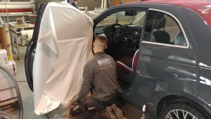 car wrapping Fiat 500