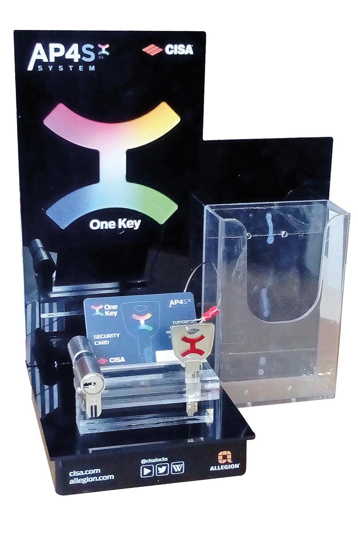 Espositori plexiglass - Targhe plexiglass CISA