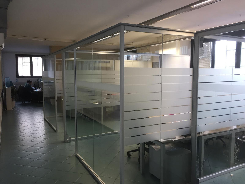 Pellicole vetri uffici - sabbiate e Fasara
