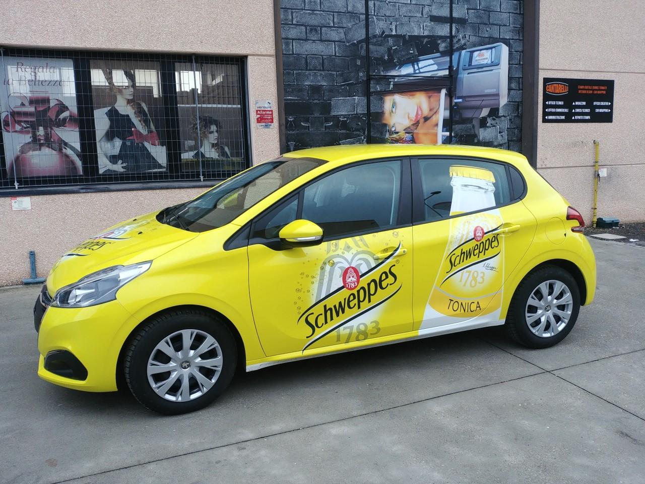 Car Wrapping personalizzazione automezzo