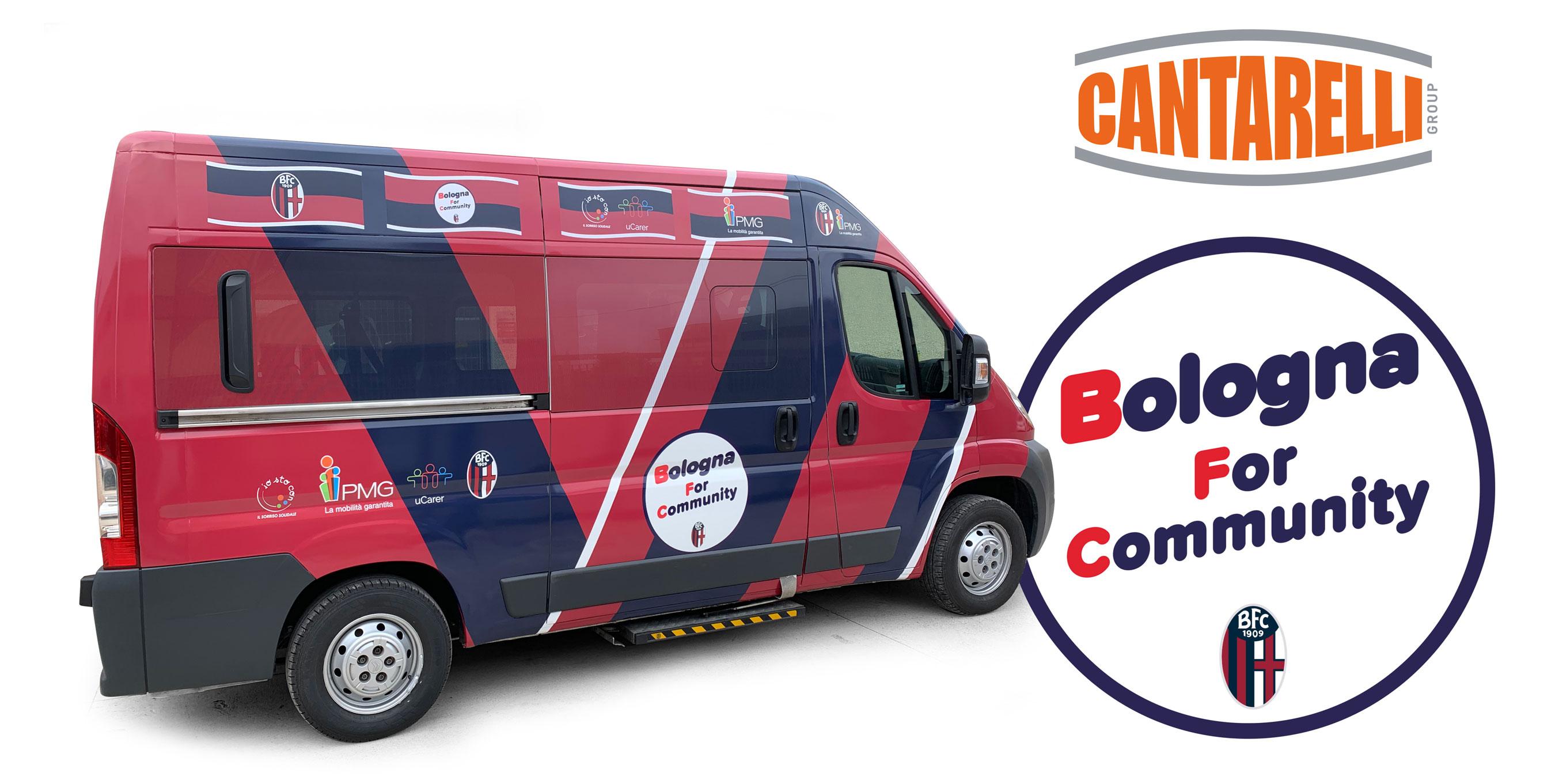 Cantarelli Group Bologna Calcio for Comunity