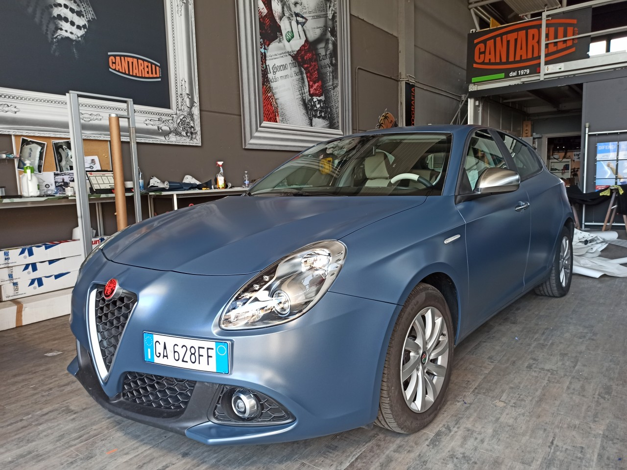 car wrapping Bologna - ALFA ROMEO