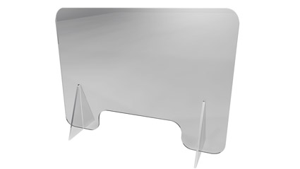 Barriera parasputi plexi - parafiato da banco e tavolo